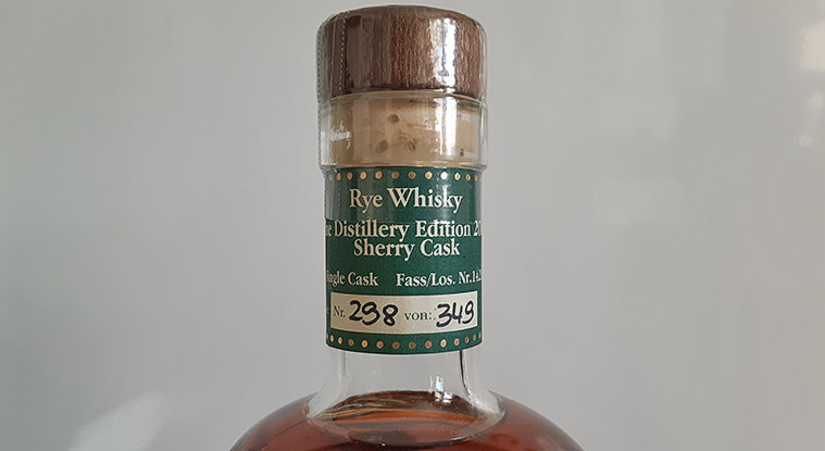 Glina Rye Whisky Distillery Edition 2019