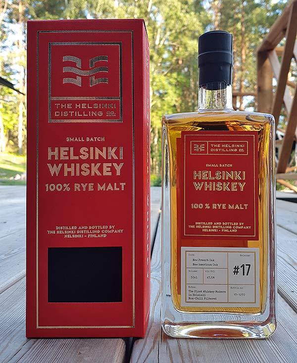 Helsinki Whiskey 100% Rye Malt Release #17 Review