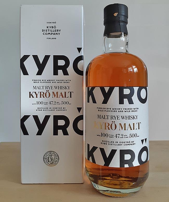 Kyrö Malt Rye Whisky - Core range expression from Finland