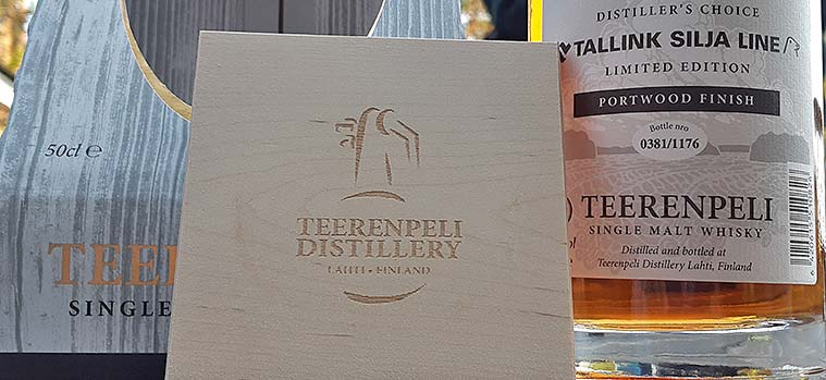 Teerenpeli Distiller's Choice Portwood Finish for Tallink Silja