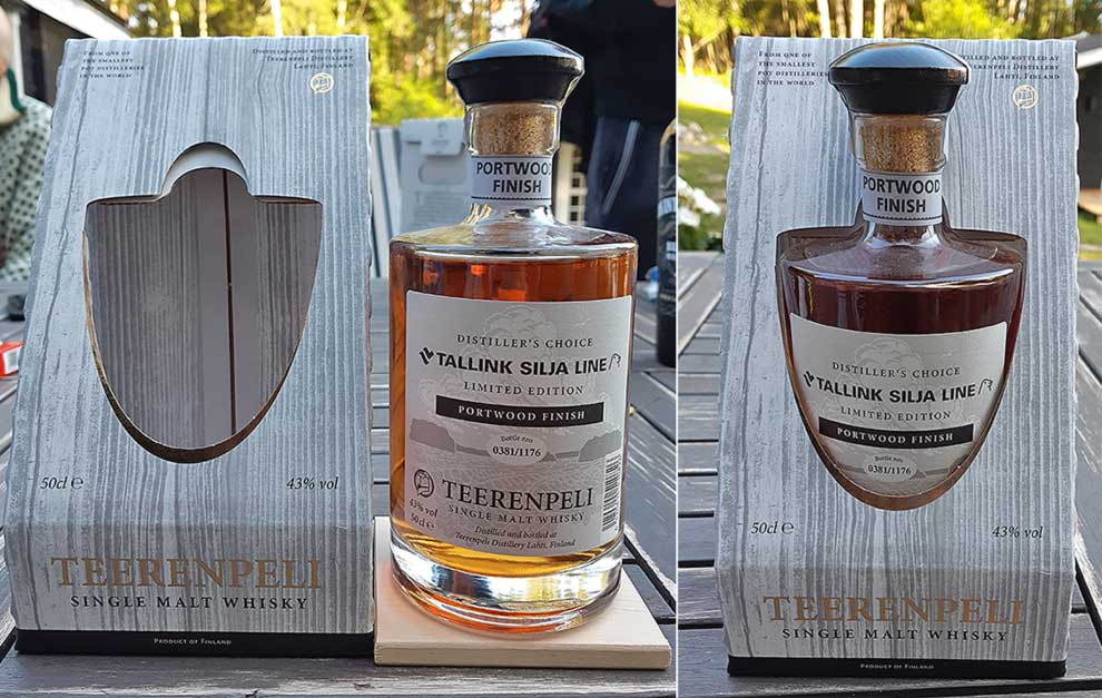 Teerenpeli Distiller's Choice Portwood Finish for Tallink Silja