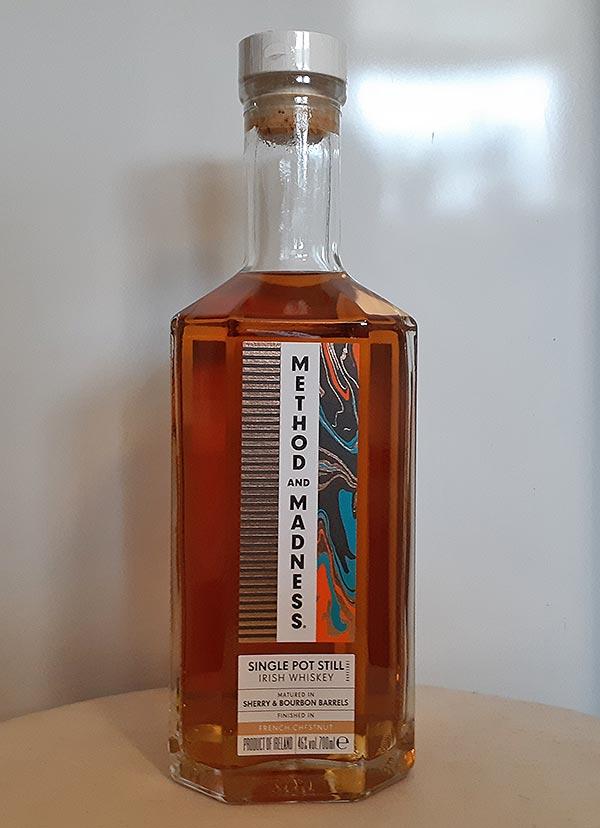 Method and Madness Single Pot Still Irish Whiskey Review